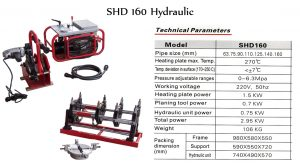 shd-160-hydraulic
