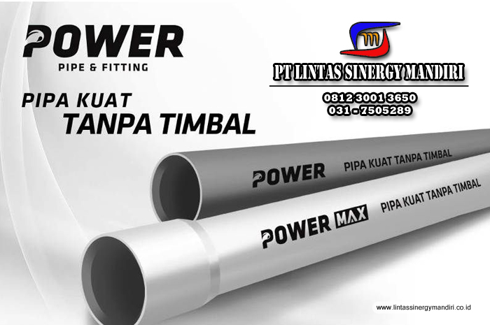 keunggulan pipa power