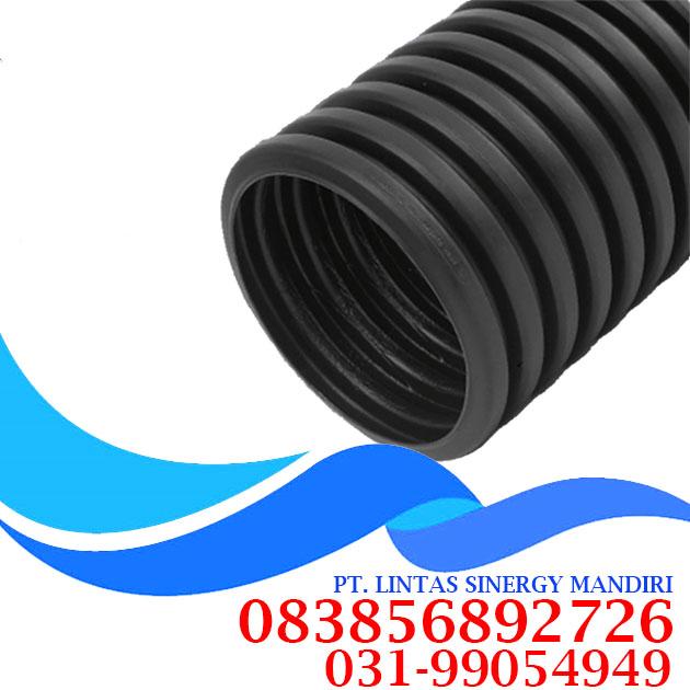 hdpe single wall corrugated pipe